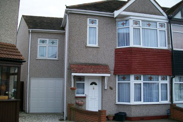 Thumbnail End terrace house for sale in Hainault, Essex