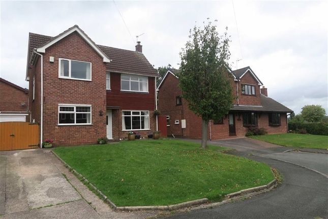 Thumbnail Detached house for sale in Wedgwood Road, Cheadle, Stoke-On-Trent