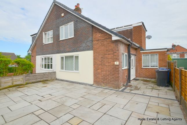 Thumbnail Semi-detached house to rent in Mount Pleasant, Prestwich, Manchester