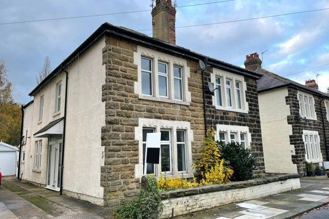 Thumbnail Semi-detached house for sale in Moorland Road, Harrogate