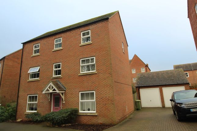 Thumbnail Detached house for sale in Colossus Way, Milton Keynes