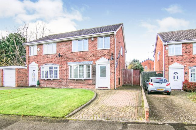Thumbnail Semi-detached house for sale in Summertrees Avenue, Greasby, Wirral