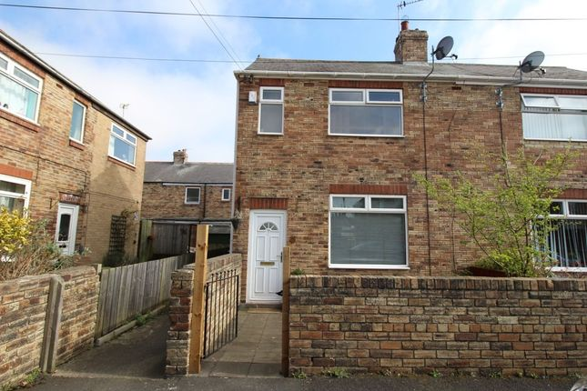 Thumbnail Semi-detached house to rent in Kings Drive, Greenside, Ryton