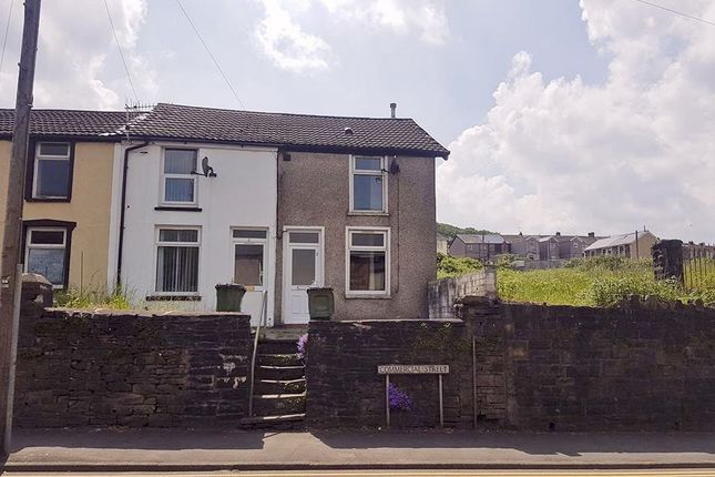 Thumbnail End terrace house to rent in Commercial Street, Mountain Ash
