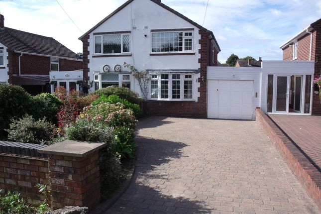 Thumbnail Semi-detached house for sale in Beyer Close, Glascote, Tamworth, Staffordshire