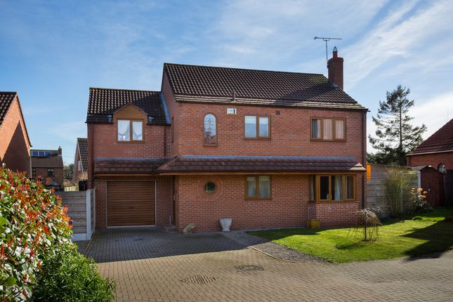 Thumbnail Detached house for sale in The Orchard, Tholthorpe, York
