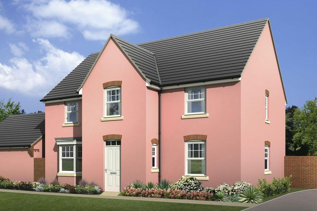 "Thumbnail Detached house for sale in ""Winstone"" at Wonastow Road, Monmouth"
