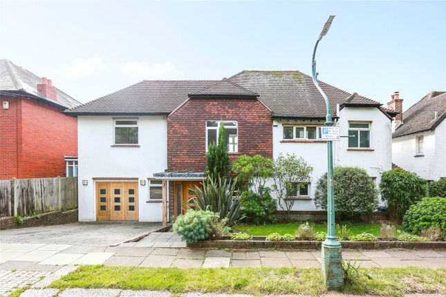 Thumbnail Detached house to rent in Hove Park Road, Hove, East Sussex