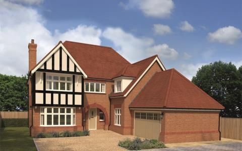 Thumbnail Detached house for sale in Jopling Road, Off Queens Road, Bisley