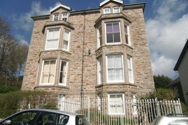 Thumbnail Flat to rent in Belmont Villas, Penzance, Cornwall