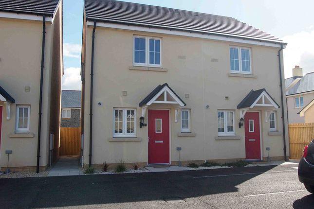 Thumbnail Semi-detached house to rent in Clos Y Doc, Llanelli, Sir Gaerfyrddin