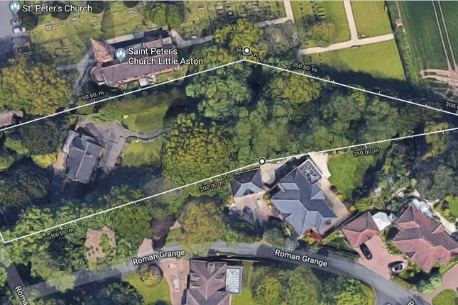 Thumbnail Land for sale in Roman Road, Little Aston Park, Sutton Coldfield