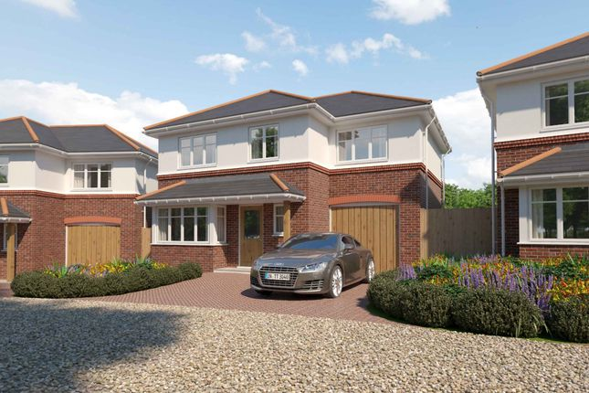 Thumbnail Detached house for sale in Cullwood Lane, New Milton
