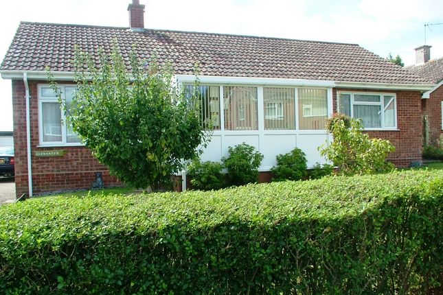 Thumbnail Detached bungalow for sale in Hall Lane, Long Stratton, Norwich