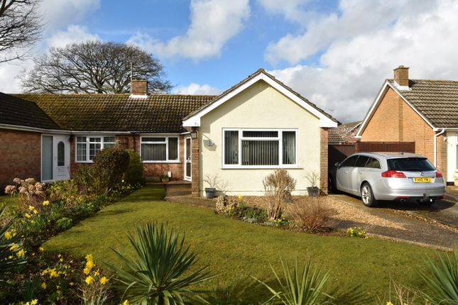 Thumbnail Semi Detached Bungalow For Sale In Vectis Road Gosport Hampshire