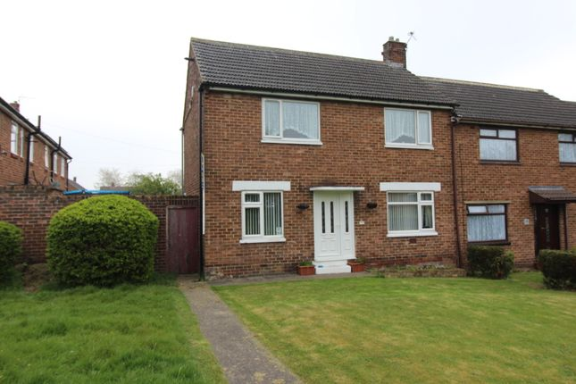 Thumbnail End terrace house for sale in Greenbank Close, Trimdon, Trimdon Station