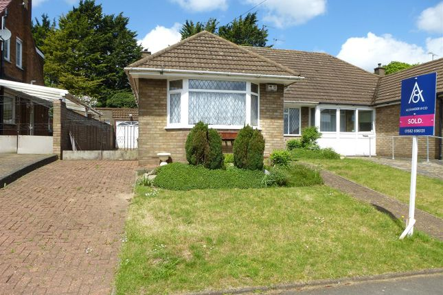 Thumbnail Semi-detached bungalow for sale in Wilbury Drive, Dunstable