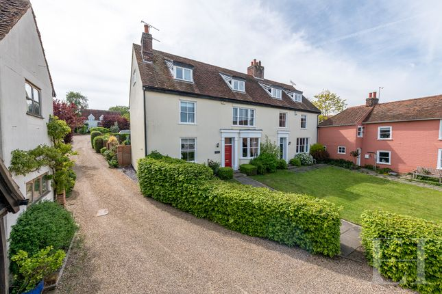 Thumbnail Semi-detached house for sale in High Street, Rowhedge, Colchester
