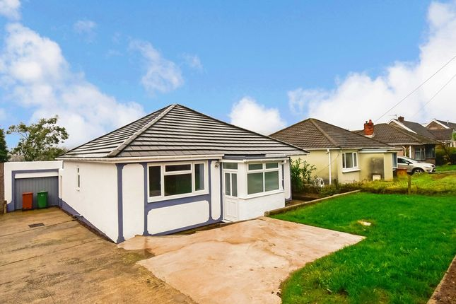Thumbnail Detached bungalow for sale in St Cenydd Road, Caerphilly