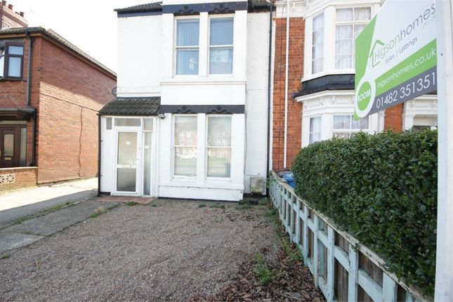 Thumbnail Semi-detached house to rent in Hessle Road, Hull, East Riding Of Yorkshire