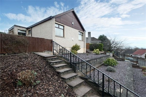 Thumbnail Detached bungalow for sale in Coldstream Park, Leven, Fife