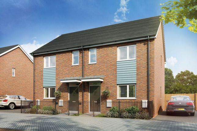 Thumbnail Semi-detached house for sale in Bessemer Drive, Newport