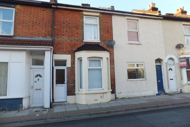 Thumbnail Terraced house to rent in Cromwell Road, Southsea