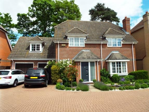 Thumbnail Detached house for sale in Manor Close, Brampton, Huntingdon, Cambs