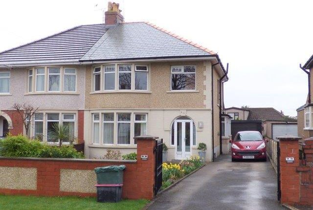 Thumbnail Semi-detached house for sale in Morecambe Road, Morecambe, Lancashire