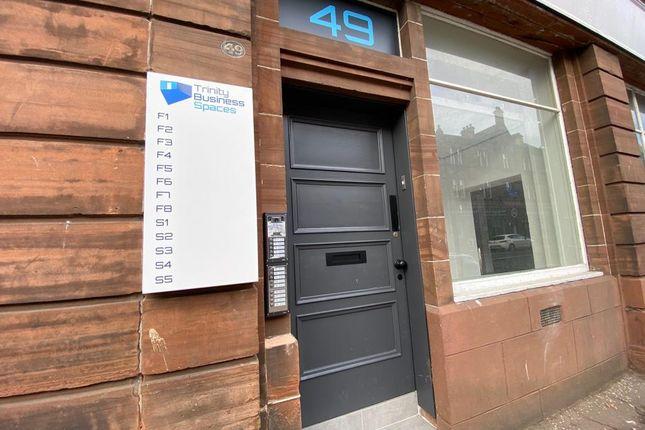 Thumbnail Office to let in Trinity Business Space, 49 John Finnie Street, Kilmarnock