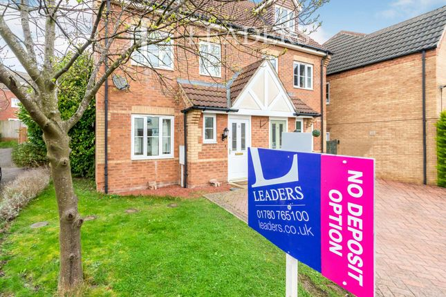 3 bed semi-detached house to rent in Ravel Close, Stamford PE9