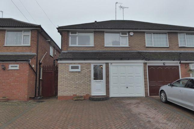 Thumbnail Semi-detached house for sale in Copse Close, Northfield, Birmingham