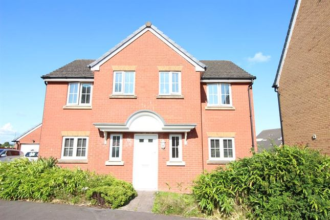Thumbnail Detached house for sale in Druids Close, Caerphilly