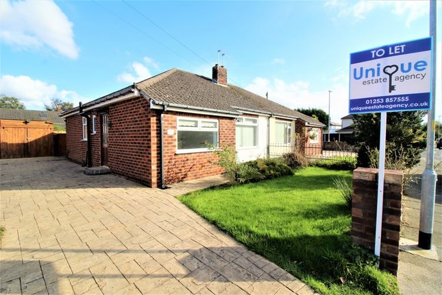 Thumbnail Bungalow to rent in Woodley Avenue, Thornton-Cleveleys