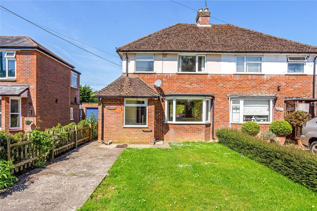 Semi-detached house for sale in Downley Road, Naphill, High Wycombe, Buckinghamshire