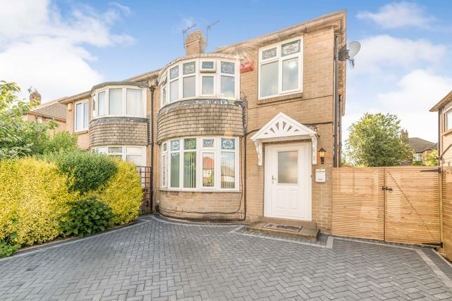 4 bed semi-detached house for sale in Carr Manor Drive, Meanwood, Leeds LS17
