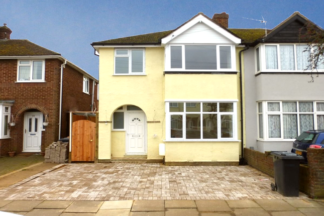 Thumbnail Semi-detached house to rent in Winchester Road, Bedford