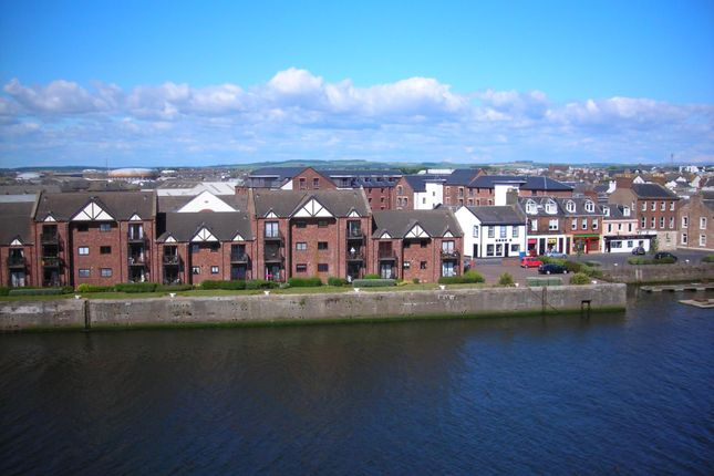 Thumbnail Flat to rent in 15 North Harbour Street, Ayr