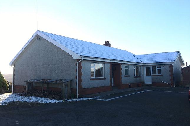 Thumbnail Bungalow to rent in Cilybebyll, Pontardawe, Swansea.