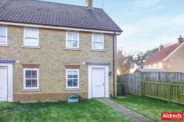 Thumbnail Semi-detached house for sale in Bradfield Drive, Martham, Great Yarmouth