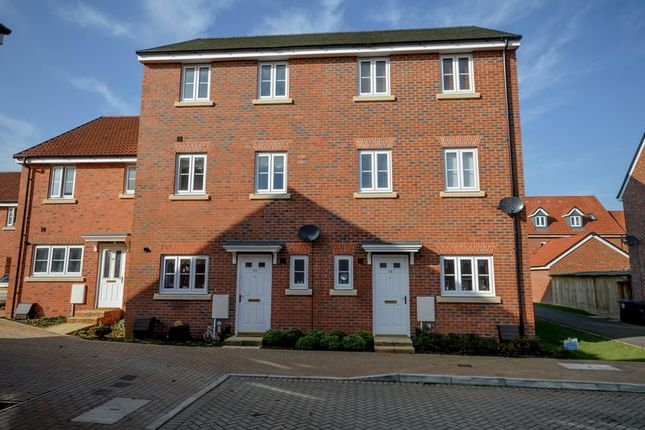 Thumbnail Terraced house for sale in Cricketers Close, Royal Wootton Bassett, Swindon