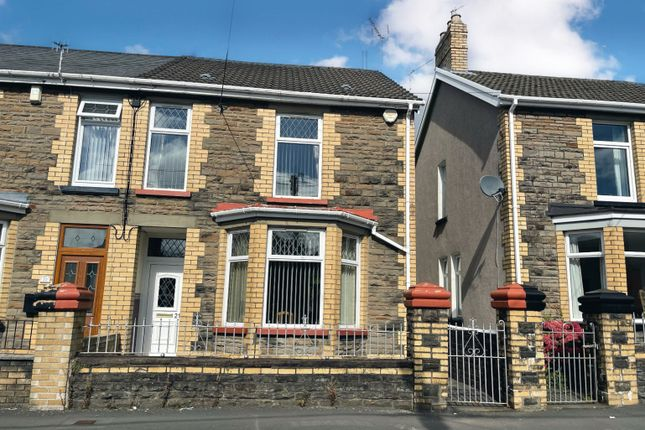 3 bed semi-detached house for sale in Lewis Street, Ystrad Mynach, Hengoed CF82