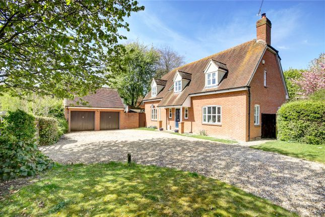 Thumbnail Detached house for sale in Green Farm Rise, Froxfield, Marlborough, Wiltshire