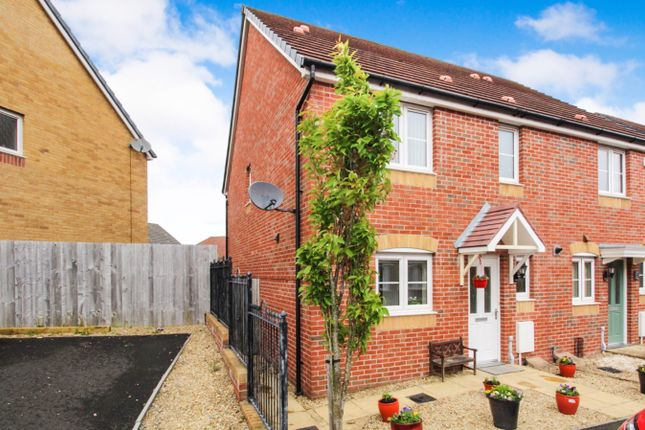Thumbnail Semi-detached house for sale in Cherry Crescent, Penllergaer, Swansea
