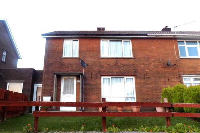 Thumbnail Semi-detached house to rent in Heol Aneurin, Caerphilly