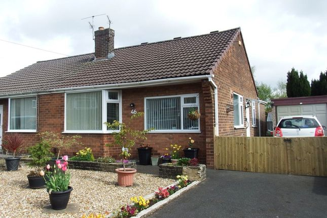 Thumbnail Bungalow to rent in Lea Gate Close, Bradshaw, Bolton