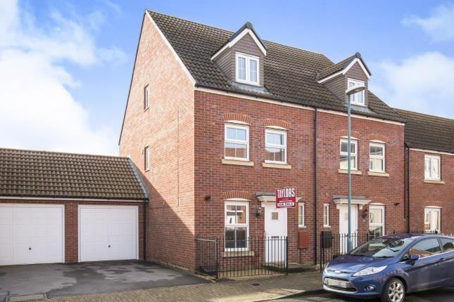 Thumbnail Semi-detached house for sale in Sapphire Way, Brockworth, Gloucester, Gloucestershire