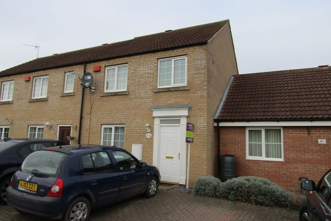 Thumbnail Terraced house to rent in Farriers Gate, Chatteris