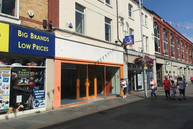 Thumbnail Retail premises to let in Prime Shop And Premises, 19 Adare Street, Bridgend