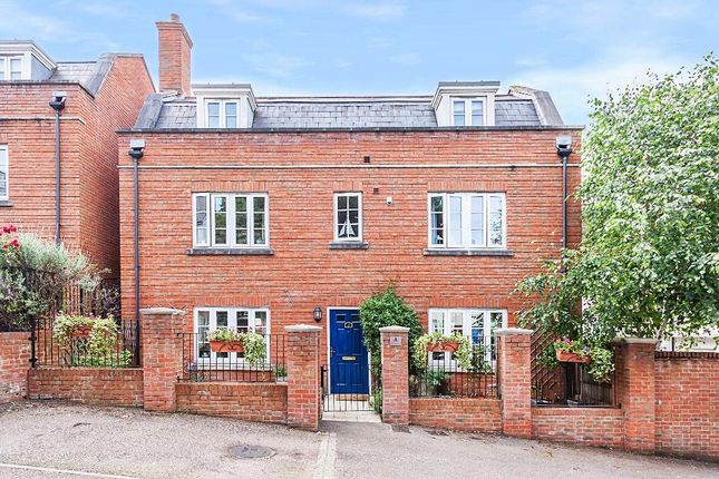 Thumbnail Detached house for sale in Watermans Way, Ingress Park, Greenhithe